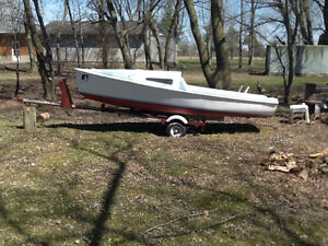 15 ft Boat and trailer for sale