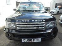 Land Rover Range Rover Sport TDV6 SPORT HSE (black) 2008