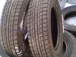 4 pneus hiver 155 80 13