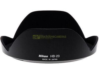 Nikon paraluce HB-23 per zoom AF-S 17-35mm 12-24mm VR 18/35mm 16-35mm ORIGINALE