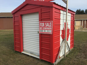 8x8 Canada shed