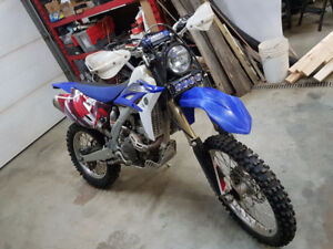 Yamaha WR450f & Snow-bike kit