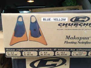 Swim fins- Churchill  large size 11 to 12.5