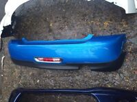2010 2012 BMW mini rear bumper choice of model and colour can post