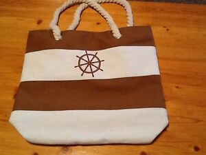 Ship wheel handbag