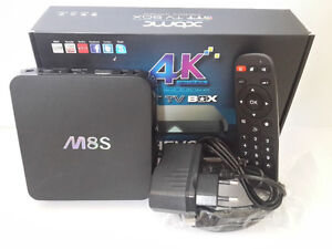 M8S Quad Core Android TV Boxes + Kodi 15.2