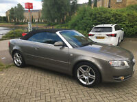 Audi A4 Cabriolet 2008 One previous owner, full history, low mileage