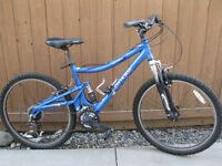 Mountain Bike with Suspension
