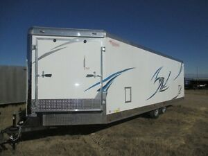 Snowmobile Enclosed Trailers For Rent