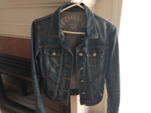 For sale TaLuLa jean jacket size X's small from Wilfred Aritzia