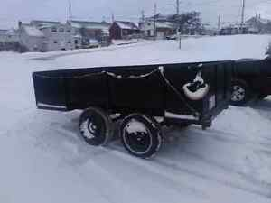 "Dual Axel trailer 24"" sides and tailgate"