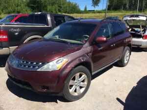 07 Murano S-AWD Low miles Recent inspection engine seized.