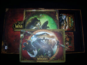 World Of Warcraft Mists of Pandaria Collectors Edition