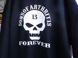 """Sons of Arthritis"" Tops -XL-    recycledgear.ca"