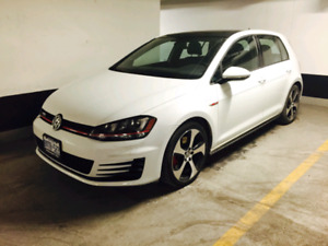【Lease Transfer】2015 Golf GTI with incredible low monthly fee
