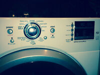 Maytag 2000 Series front loading washing machine for sale.