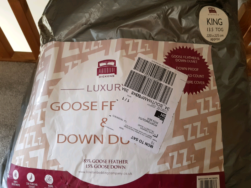 c604bf86594 BRAND NEW! Goose feather and down duvet | in Portsmouth, Hampshire | Gumtree