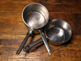 3 free cooking pots