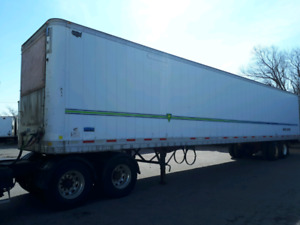 53 ft storage trailers