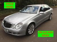2008 MERCEDES E280 SPORT AUTO / LONG MOT / PX WELCOME