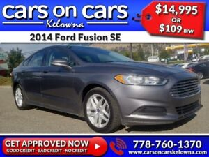 2014 Ford Fusion SE w/BlueTooth, USB Connect $109B/W INSTANT APP