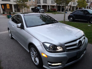 REDUCED! 2012 c250 coupe w/Brand new winter tires