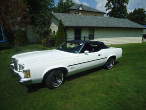 73 mercury cougar convertible