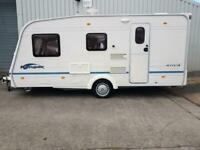 2005 Bailey Ranger 470 4 Berth End Washroom Caravan Outstanding Condtion.vans.cars.bikes.boats.
