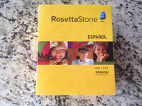 """Rosetta Stone"" Spanish Language Course"