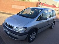 2004 Vauxhall Zafira 2.0L DTI 7 Seater Family Car For Sale Mot-02-2017 Cheap Price Only £999 ONO