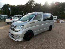 Nissan Elgrand 3.0 V6 Pop Top Van Conversion