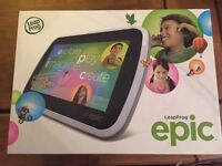 Leapfrog epic tablet as new in box