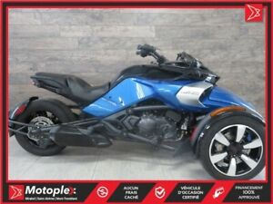 2017 Can-Am Spyder F3-S SM6 62,56$/SEMAINE