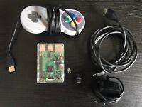 Raspberry PI 3 Model B WiFi & Bluetooth, retro PI SNES, NES, Mega Drive, PS1