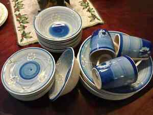 Huge set of blue dishes Peterborough Peterborough Area image 1