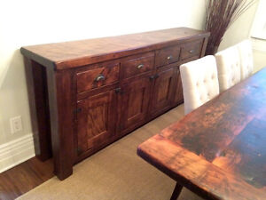 Rustic barn board live edge vanities tables cabinets doors