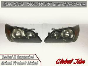 JDM TOYOTA ALTEZZA SXE10 (Lexus IS300) Black Housing Headlights