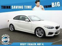 2015 BMW 2 Series 220D M SPORT Auto Coupe Diesel Automatic
