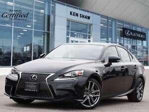 2015 Lexus IS 250 ** F Sport 3 ** Lexus Certified **