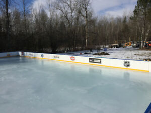 Rinks For You- We Build Backyard Ice Rinks