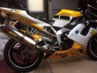 Yamaha r1 1998 good condition swap enduro bike