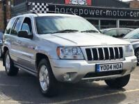 2004 Jeep Grand Cherokee 4.7 V8 Overland 4x4 5dr Petrol silver Automatic