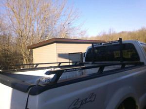 F250 F350 super duty back rack with rails