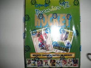 Premiere '92 Hockey Cards Kitchener / Waterloo Kitchener Area image 1
