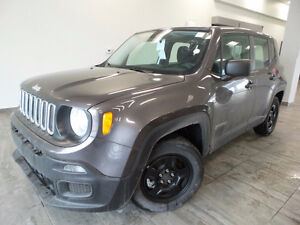 2016 JEEP RENEGADE SPORT MANUAL! SAVE THOUSANDS, ONLY $124BW!