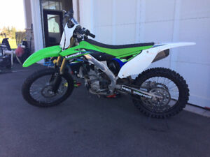 2015 KX 250 (LOW, LOW RIDING HOURS)
