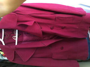 Xs and small jackets north face, guess etc
