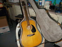 Yamiki Guitar(also known as a Japanese Martin)