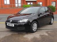 2010 Volkswagen Golf 1.6TDI + NEW SHAPE + FSH + £30 TAX