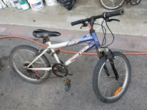 "SuperCycle Impulse Bike with Front Suspension 20"" Wheels"